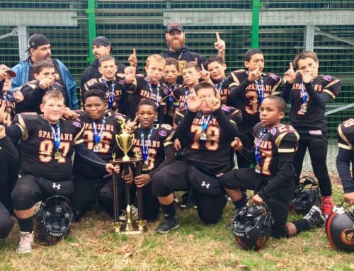 9U Spartans win Championship!
